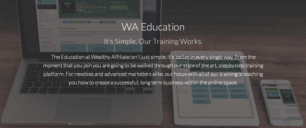 Online Business - Education at WA