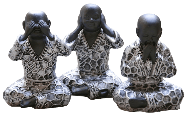 See, Hear and Speak no evil - minimize the karma force