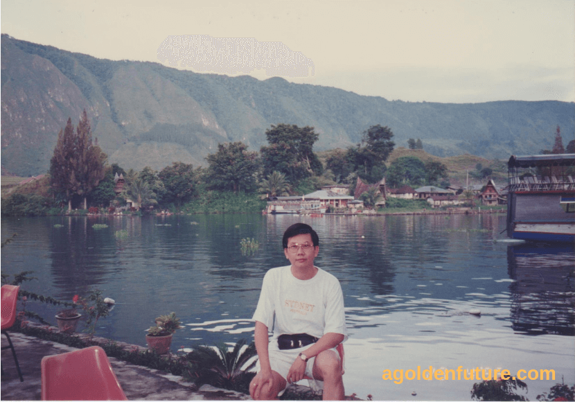 KL Chang at Lake Toba