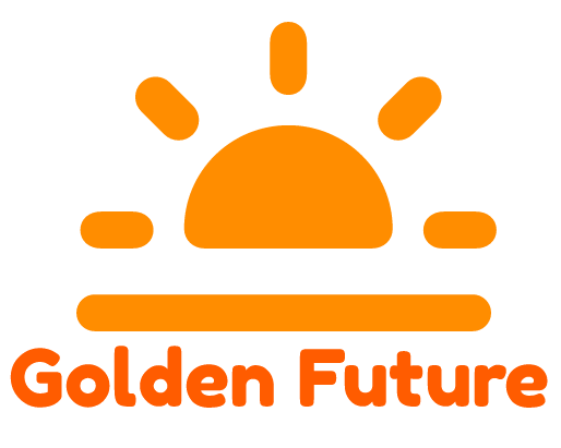 A Golden Future Logo